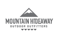 mountain hidaway logo all rights reserved